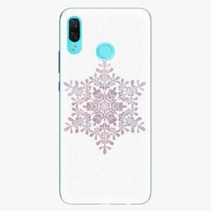 Silikonové pouzdro iSaprio - Snow Flake - Huawei Nova 3