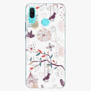 Silikonové pouzdro iSaprio - Birds - Huawei Nova 3