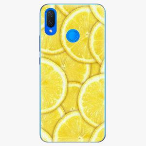 Silikonové pouzdro iSaprio - Yellow - Huawei Nova 3i