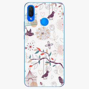 Silikonové pouzdro iSaprio - Birds - Huawei Nova 3i