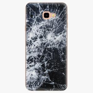Silikonové pouzdro iSaprio - Cracked - Samsung Galaxy J4+
