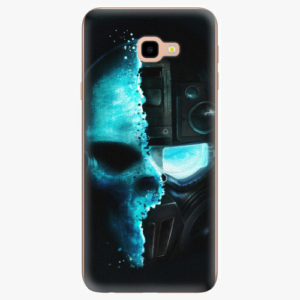 Silikonové pouzdro iSaprio - Roboskull - Samsung Galaxy J4+
