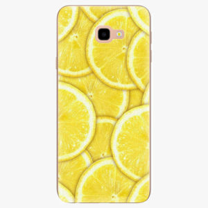 Silikonové pouzdro iSaprio - Yellow - Samsung Galaxy J4+
