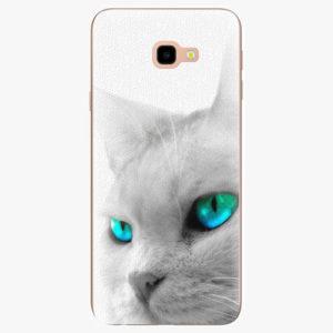 Silikonové pouzdro iSaprio - Cats Eyes - Samsung Galaxy J4+