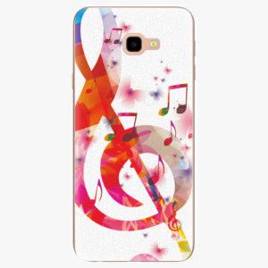 Silikonové pouzdro iSaprio - Love Music - Samsung Galaxy J4+