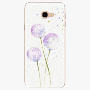 Silikonové pouzdro iSaprio - Dandelion - Samsung Galaxy J4+