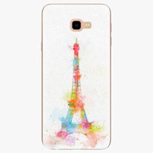 Silikonové pouzdro iSaprio - Eiffel Tower - Samsung Galaxy J4+