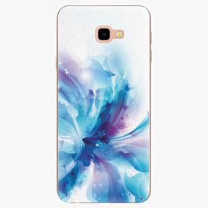 Silikonové pouzdro iSaprio - Abstract Flower - Samsung Galaxy J4+