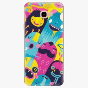 Silikonové pouzdro iSaprio - Monsters - Samsung Galaxy J4+