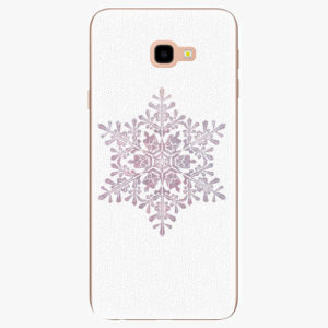 Silikonové pouzdro iSaprio - Snow Flake - Samsung Galaxy J4+