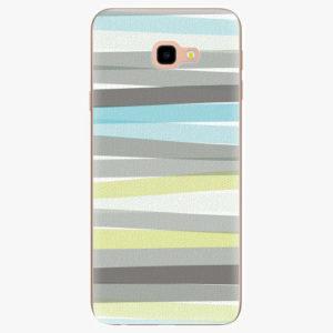 Silikonové pouzdro iSaprio - Stripes - Samsung Galaxy J4+