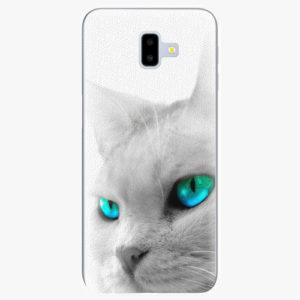 Silikonové pouzdro iSaprio - Cats Eyes - Samsung Galaxy J6+