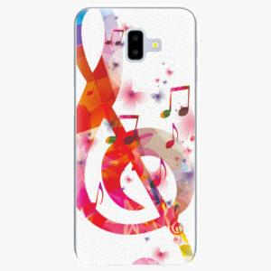 Silikonové pouzdro iSaprio - Love Music - Samsung Galaxy J6+