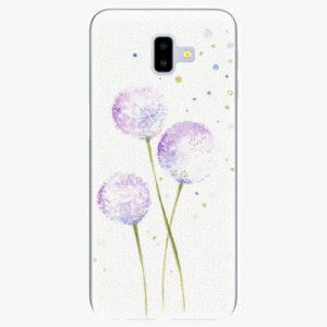 Silikonové pouzdro iSaprio - Dandelion - Samsung Galaxy J6+