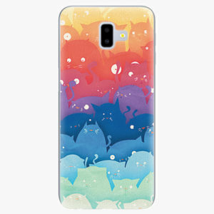 Silikonové pouzdro iSaprio - Cats World - Samsung Galaxy J6+