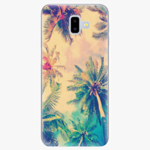 Silikonové pouzdro iSaprio - Palm Beach - Samsung Galaxy J6+