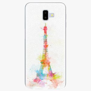 Silikonové pouzdro iSaprio - Eiffel Tower - Samsung Galaxy J6+