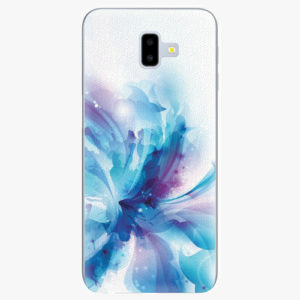 Silikonové pouzdro iSaprio - Abstract Flower - Samsung Galaxy J6+