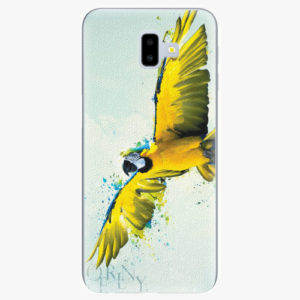 Silikonové pouzdro iSaprio - Born to Fly - Samsung Galaxy J6+