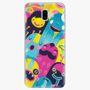 Silikonové pouzdro iSaprio - Monsters - Samsung Galaxy J6+