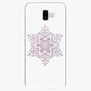 Silikonové pouzdro iSaprio - Snow Flake - Samsung Galaxy J6+