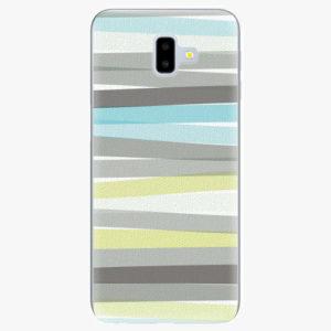 Silikonové pouzdro iSaprio - Stripes - Samsung Galaxy J6+