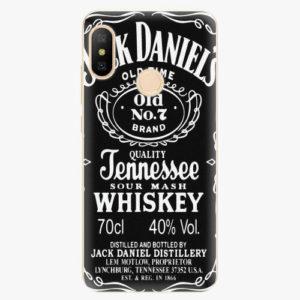 Silikonové pouzdro iSaprio - Jack Daniels - Xiaomi Mi A2 Lite