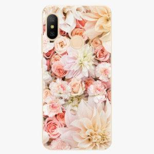 Silikonové pouzdro iSaprio - Flower Pattern 06 - Xiaomi Mi A2 Lite