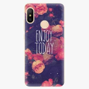 Silikonové pouzdro iSaprio - Enjoy Today - Xiaomi Mi A2 Lite