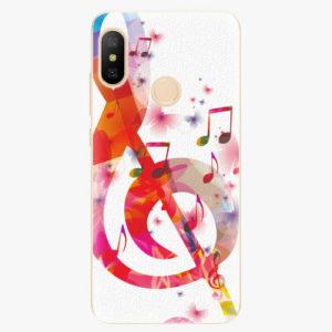 Silikonové pouzdro iSaprio - Love Music - Xiaomi Mi A2 Lite
