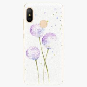 Silikonové pouzdro iSaprio - Dandelion - Xiaomi Mi A2 Lite