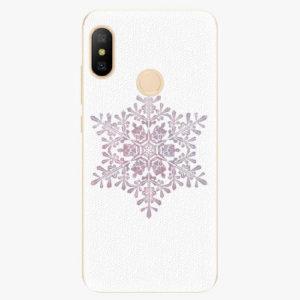 Silikonové pouzdro iSaprio - Snow Flake - Xiaomi Mi A2 Lite