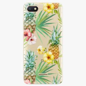 Silikonové pouzdro iSaprio - Pineapple Pattern 02 - Xiaomi Redmi 6A