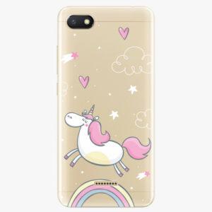 Silikonové pouzdro iSaprio - Unicorn 01 - Xiaomi Redmi 6A