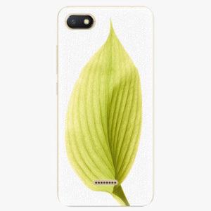Silikonové pouzdro iSaprio - Green Leaf - Xiaomi Redmi 6A