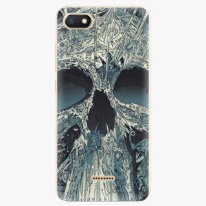 Silikonové pouzdro iSaprio - Abstract Skull - Xiaomi Redmi 6A