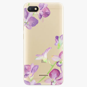 Silikonové pouzdro iSaprio - Purple Orchid - Xiaomi Redmi 6A
