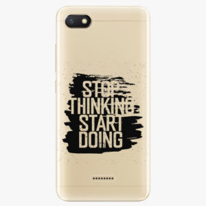Silikonové pouzdro iSaprio - Start Doing - black - Xiaomi Redmi 6A