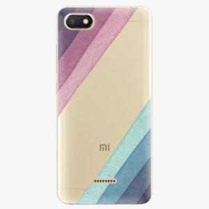 Silikonové pouzdro iSaprio - Glitter Stripes 01 - Xiaomi Redmi 6A