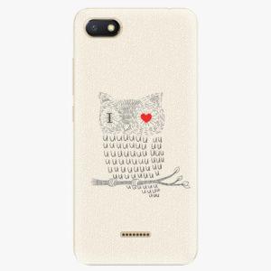 Silikonové pouzdro iSaprio - I Love You 01 - Xiaomi Redmi 6A