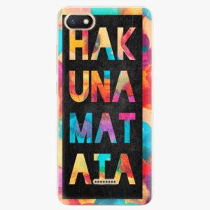 Silikonové pouzdro iSaprio - Hakuna Matata 01 - Xiaomi Redmi 6A