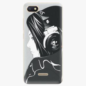 Silikonové pouzdro iSaprio - Headphones - Xiaomi Redmi 6A
