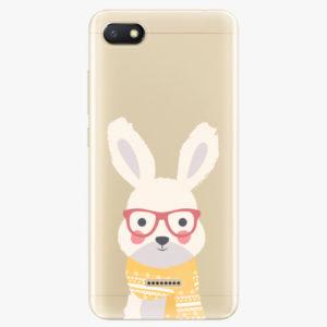 Silikonové pouzdro iSaprio - Smart Rabbit - Xiaomi Redmi 6A