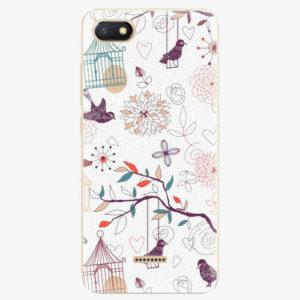Silikonové pouzdro iSaprio - Birds - Xiaomi Redmi 6A