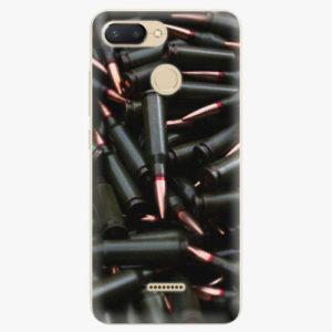 Silikonové pouzdro iSaprio - Black Bullet - Xiaomi Redmi 6