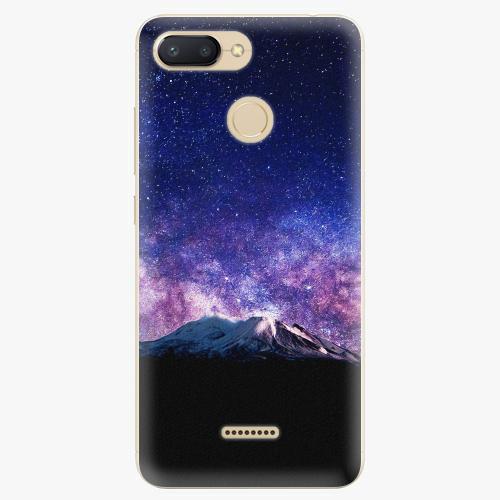 Silikonové pouzdro iSaprio - Milky Way - Xiaomi Redmi 6