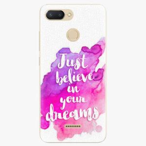 Silikonové pouzdro iSaprio - Believe - Xiaomi Redmi 6