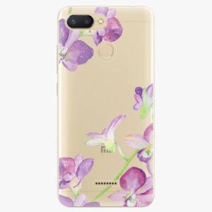 Silikonové pouzdro iSaprio - Purple Orchid - Xiaomi Redmi 6