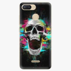 Silikonové pouzdro iSaprio - Skull in Colors - Xiaomi Redmi 6