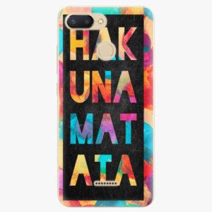 Silikonové pouzdro iSaprio - Hakuna Matata 01 - Xiaomi Redmi 6